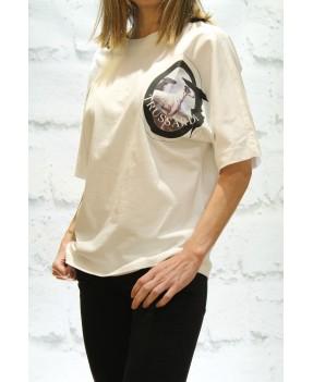 Camiseta Galgo Trussardi Jeans