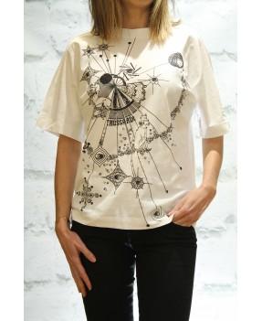 Camiseta Planetas Trussardi...
